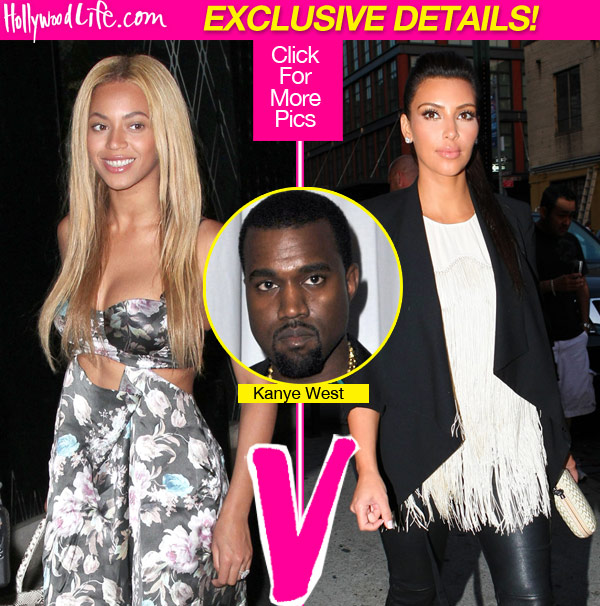 Are Beyonce and Kim Kardashian Friends