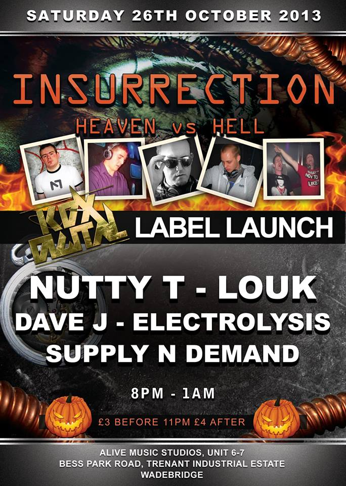 INSURRECTION EVENT 26TH OCTOBER 2013