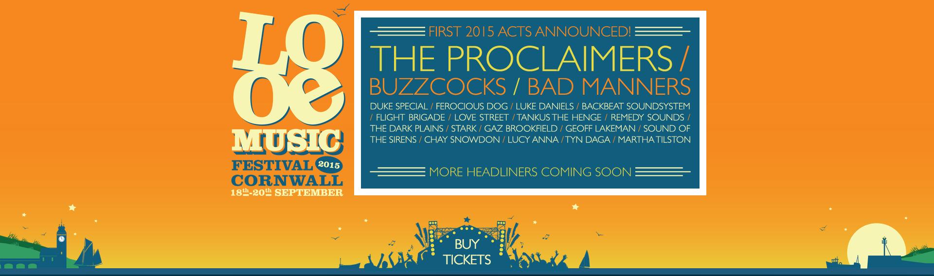 Looe Music Festival 2012-2015