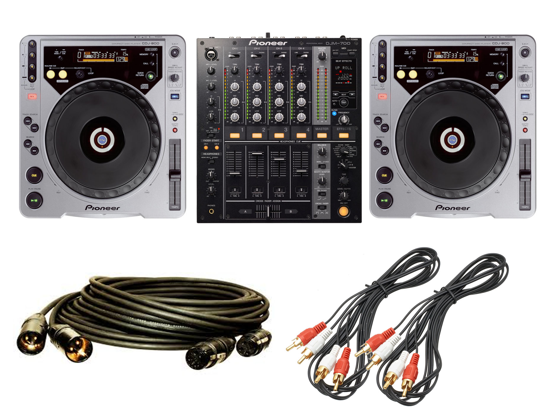 cdjs and mixer
