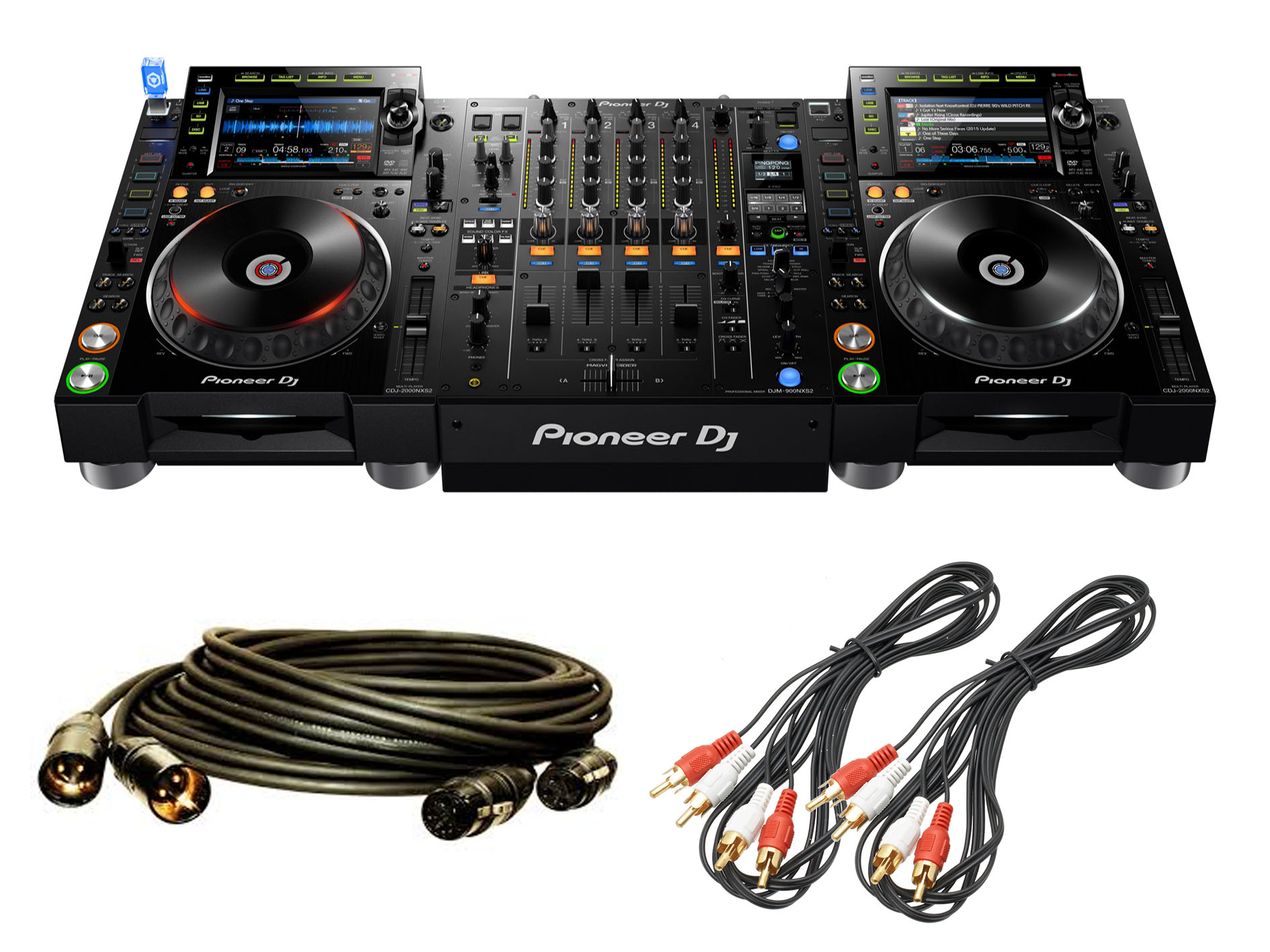 cdjs nexus and DJM 900 NXS2 mixer